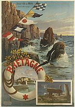 F. HUGO D'ALESI (1849-1906). BRETAGNE. Circa 1895. 39x28 inches, 101x71 cm. Hugo d'Alesi, Paris.