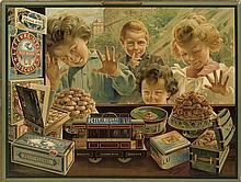 F. BOCCINO (DATES UNKNOWN). LEFEVRE - UTILE. Circa 1896. 20x26 inches, 52x67 cm. F. Champenois, Paris.