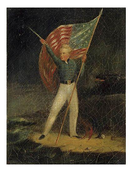 ROBERT S. DUNCANSON (1821 - 1872) Young America.