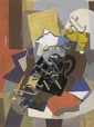 ROBERT BLACKBURN (1920 - 2003) Untitled (Modernist Still Life).