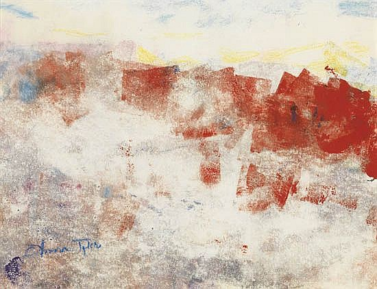 ANNA MCCULLOUGH TYLER (1930 - 2009) Hot Flash in the Summertime.