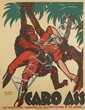 KARL PETAU (1890-1974). CARO ASS. Circa 1921. 44x33 inches, 111x83 cm. A-Bagel, Düsseldorf.