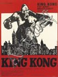 F. DEFLANDRE (DATES UNKNOWN). KING KONG. Circa 1960s. 61x45 inches, 156x116 cm. Richier-Laugier, Paris.