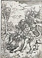 ALBRECHT DÜRER Samson Fighting with the Lion.