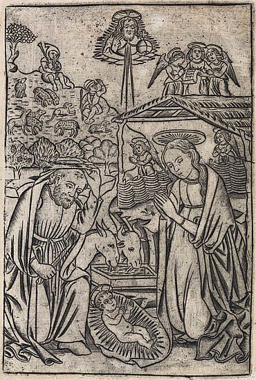 GERMAN SCHOOL, LATE 15TH-CENTURY The Nativity.