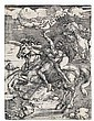 HIERONYMUS HOPFER (after Dürer) The Abduction of Proserpine