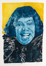 RICHARD YARDE (1939 - 2011) Portrait of Dr. Maya Angelou.