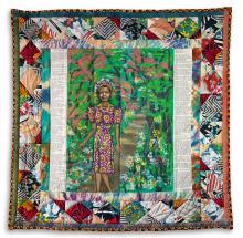 FAITH RINGGOLD (1930 -    ) Maya's Quilt of Life.