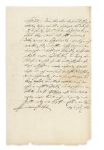 FRIEDRICH WILHELM; KURFÜRST VON BRANDENBURG. Letter Signed, to
