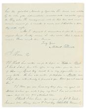 FILLMORE, MILLARD. Autograph Letter Signed, as Representative, to New York lawyer Solomon G. Haven,