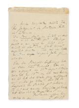 LISZT, FRANZ. Autograph Letter Signed,