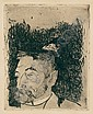 PAUL GAUGUIN Portrait de Stephane Mallarme.