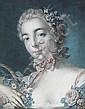 LOUIS-MARIN BONNET (after Boucher) Tête de Flore