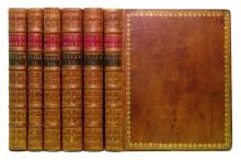HOMER.  The Iliad . . . Translated by Mr. [Alexander] Pope.  6 vols.  1715-20.  Lacks the map of Troy.