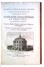 IAMBLICHUS. De mysteriis liber.  1678