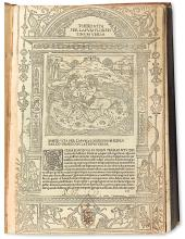 INCUNABULA  PLUTARCH. Vitae illustrium virorum.  1491.  Lacks last 8 leaves.