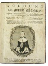 LAW  BLANDY, MARY.  A Genuine and Impartial Account of the Life of Miss Mary Blandy.  1752