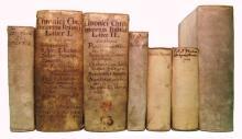 MISCELLANEOUS.  Bonifacio. 1600 + Gruter. 2 vols. 1614 + Monti. 1614 + Barlaeus. 1631 + Bacon. 1652 + Clasen. 1673