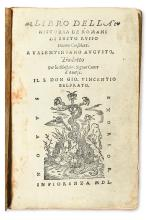 RUFUS FESTUS, SEXTUS. Libro della historia de Romani.  1550