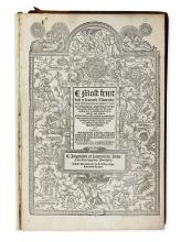 VERMIGLI, PIETRO MARTIRE. Most fruitfull [and] learned co[m]mentaries.  1564
