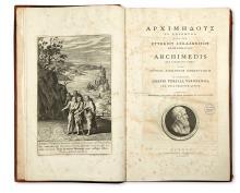 ARCHIMEDES. Archimedis quae supersunt omnia.  1792