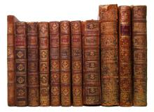 ELECTRICITY.  Group of 11 volumes.  1745-1802