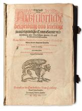 GESNER, CONRAD. Thierbuch. 1606 + Fischbuch.  1598