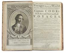 ANDERSON, GEORGE WILLIAM. A New, Authentic, and Complete Collection of Voyages round the World, undertaken by Royal Authority. 1784-86