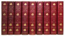 PHILLIPS, RICHARD, Sir, publisher. New Voyages and Travels.  9 vols.  1819-23