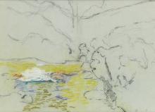 JEAN-BAPTISTE-ARMAND GUILLAUMIN Landscape.