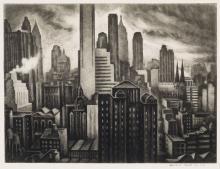 HOWARD COOK Soaring New York.