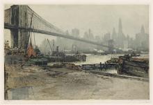 LUIGI KASIMIR Brooklyn Bridge, New York.