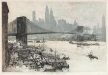 LUIGI KASIMIR New York, Brooklyn Bridge.