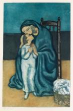 PABLO PICASSO (after) Maternité