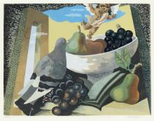 GINO SEVERINI (after) Nature Morte au Pigeon et Fruits