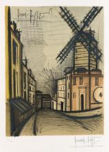 BERNARD BUFFET (after) Moulin à Vent