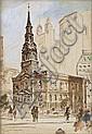 GUY CARLTON WIGGINS Trinity Church, New York.