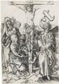 MARTIN SCHONGAUER The Crucifixion.