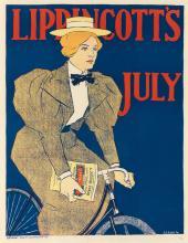 JOSEPH J. GOULD, JR. (1880-1935). LIPPINCOTT'S JULY. 1896. 18x14 inches, 47x36 cm. J.B. Lippincott Co., Philadelphia.