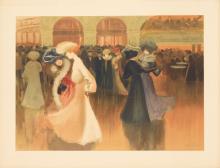ABEL TRUCHET (1857-1918). LES DANSEUSE. 1900. 25x35 inches, 64x90 cm. Eugène Verneau, Paris.