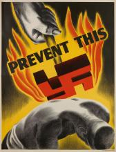 DESIGNER UNKNOWN. PREVENT THIS. 1942. 50x38 inches, 127x96 cm. General Electric Co.