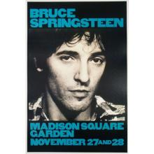 VARIOUS ARTISTS. [BRUCE SPRINGSTEEN.] Group of 3 posters. Circa 1970s-80s. Sizes vary.