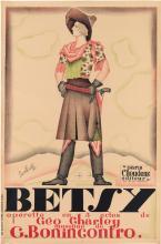 PASCAL BASTIA (1908-2007). BETSY. 1927. 47x31 inches, 121x78 cm. Delanchy-Dupré, Paris.