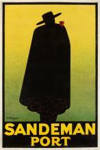GEORGE MASSIOT (DATES UNKNOWN). SANDEMAN PORT. 1928. 60x40 inches, 152x102 cm.
