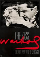 D'APRÈS ANDY WARHOL (1928-1987). THE KISS / WARHOL / ART INSTITUTE OF CHICAGO. 1990. 38x27 inches, 97x69 cm.