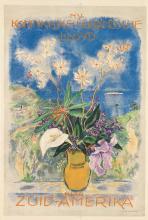 JAN SLUIJTERS (1881-1957). ZUID - AMERIKA. Circa 1920. 43x29 inches, 109x73 cm. L. van Leer & Co., Amsterdam.
