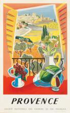 TAL (DATES UNKNOWN). PROVENCE. 1952. 39x24 inches, 99x61 cm. Paul-Martial, Paris.