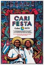 VARIOUS ARTISTS. [CUBA POSTERS.] Group of 6 posters. Circa 1970s. Sizes vary.