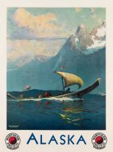 SYDNEY LAURENCE (1865-1940). ALASKA / NORTHERN PACIFIC. Circa 1931. 40x29 inches, 101x75 cm.