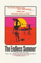 JOHN VAN HAMERSVELD (1941- ). THE ENDLESS SUMMER. 1966. 41x27 inches, 104x68 cm.